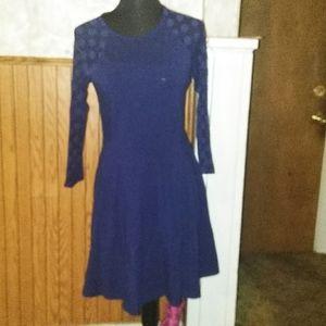 Navy blue express dress